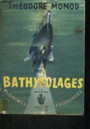 Bathyfolages (1948-1954) - Couverture - Format classique