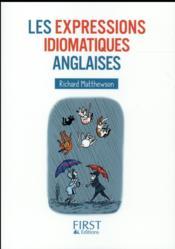 Les expressions idiomatiques anglaises - 4ème de couverture - Format classique