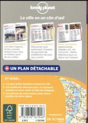 Lyon en quelques jours (5e édition) - 4ème de couverture - Format classique