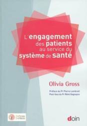 L'engagement des patients au service du système de santé - Couverture - Format classique