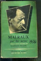 Malraux Par Lui-Meme / Collection Ecrivains De Toujours - Couverture - Format classique