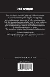 Bill Brandt - 4ème de couverture - Format classique