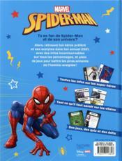 Spider-Man ; l'année 2021 - 4ème de couverture - Format classique