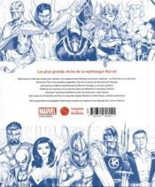 Marvel ; mythes et légendes - 4ème de couverture - Format classique