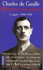 L'Appel 1940-1942 - Intérieur - Format classique
