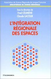 Integration Regionale Des Espaces (L') - Couverture - Format classique