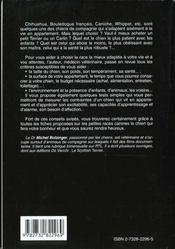 Le Guide Des Chiens D'Appartement - 4ème de couverture - Format classique