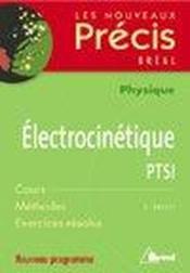 Electrocinetique - Couverture - Format classique