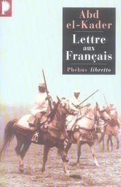 Lettre aux français - Intérieur - Format classique