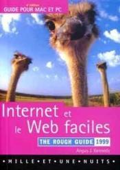 Internet Et Le Web Faciles 1999 The Rough Guides - Couverture - Format classique