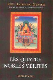 Les quatre nobles vérités - Intérieur - Format classique