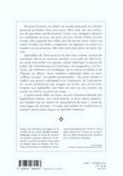 Salades de la Méditerranée - 4ème de couverture - Format classique