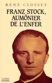 Franz Stock Aumonier Enfe - Couverture - Format classique