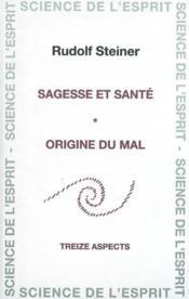 Sagesse et sante - Couverture - Format classique