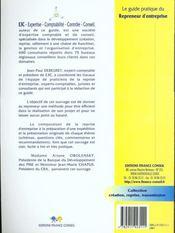 Le guide pratique du repreneur d'entreprise - 4ème de couverture - Format classique