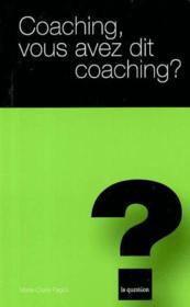 Coaching vous avez dit coaching ? t.16 - Couverture - Format classique