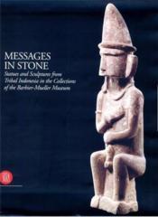 Messages in stone - Couverture - Format classique