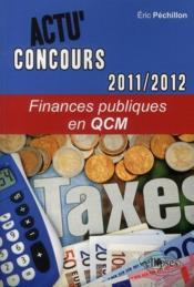 Finances publiques en QCM (2011-2012) - Couverture - Format classique