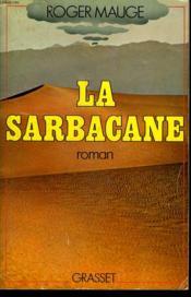 La Sarbacane. - Couverture - Format classique