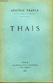 Thaïs. - Couverture - Format classique