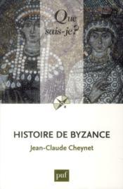 Histoire de Byzance (4e édition) - Couverture - Format classique
