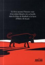L'Arabe du futur T.1 ; une jeunesse au Moyen-Orient (1978-1984) - 4ème de couverture - Format classique
