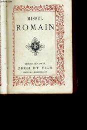 Missel Romain N°185 - Couverture - Format classique