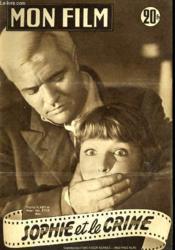 Mon Film N° 485 - Sophie Et Le Crime - Couverture - Format classique