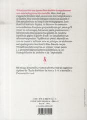 La fractale des raviolis - 4ème de couverture - Format classique