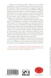 Le livre des Egyptes - 4ème de couverture - Format classique