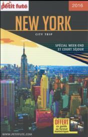 Guide Petit Fute ; City Trip ; New York - Couverture - Format classique
