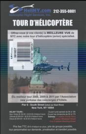 Guide Petit Fute ; City Trip ; New York - 4ème de couverture - Format classique