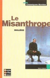 Le Misanthrope - Intérieur - Format classique