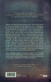 L'envol du moineau - 4ème de couverture - Format classique