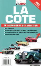 La cote de l'automobile de collection (édition 2019) - Couverture - Format classique