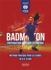 La preparation physique en badminton - Couverture - Format classique