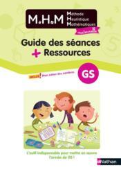 Méthode heuristique de mathématiques ; guide des séances + ressources ; grande section (édition 2020) - Couverture - Format classique