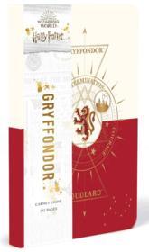 Harry Potter ; constellation ; carnet Gryffondor - Couverture - Format classique