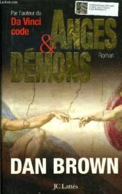 Anges et démons - Couverture - Format classique