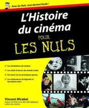 L'histoire du cinéma pour les nuls - Couverture - Format classique
