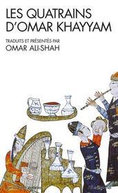 Les quatrains d'omar khayyam - traduits et presentes par omar ali-shah - Intérieur - Format classique