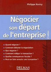 Négocier son départ de l'entreprise (2e édition) - Intérieur - Format classique