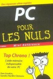 Pc pour les nuls (4e édition) - Intérieur - Format classique