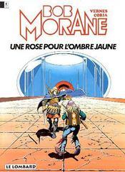 Bob Morane t.15 ; une rose pour l'ombre jaune - Intérieur - Format classique