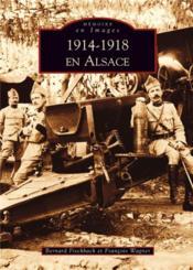 1914-1918 en Alsace - Couverture - Format classique