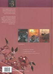 Luuna ; INTEGRALE T.1 A T.3 - 4ème de couverture - Format classique