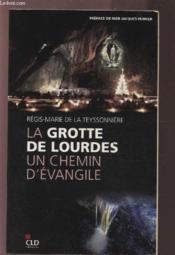 La grotte de Lourdes, un chemin d'évangile - Couverture - Format classique