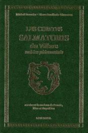 Les comtes salmatoris du villars, nobles piémontais - Couverture - Format classique