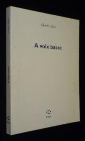 À voix basse - Couverture - Format classique