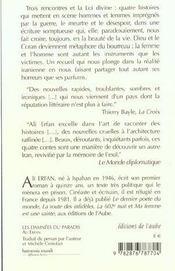 Les Damnees Du Paradis - 4ème de couverture - Format classique